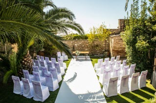 a wedding in Sitges