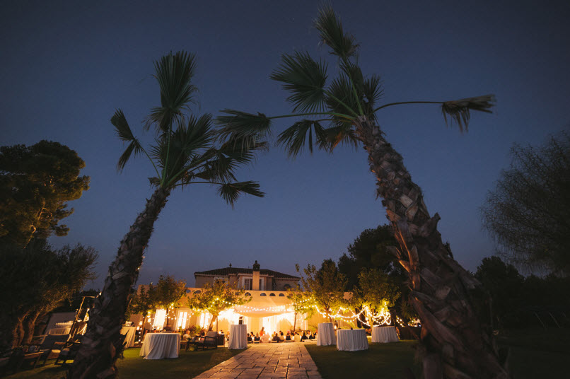 wedding reception at Casa Nova Estate