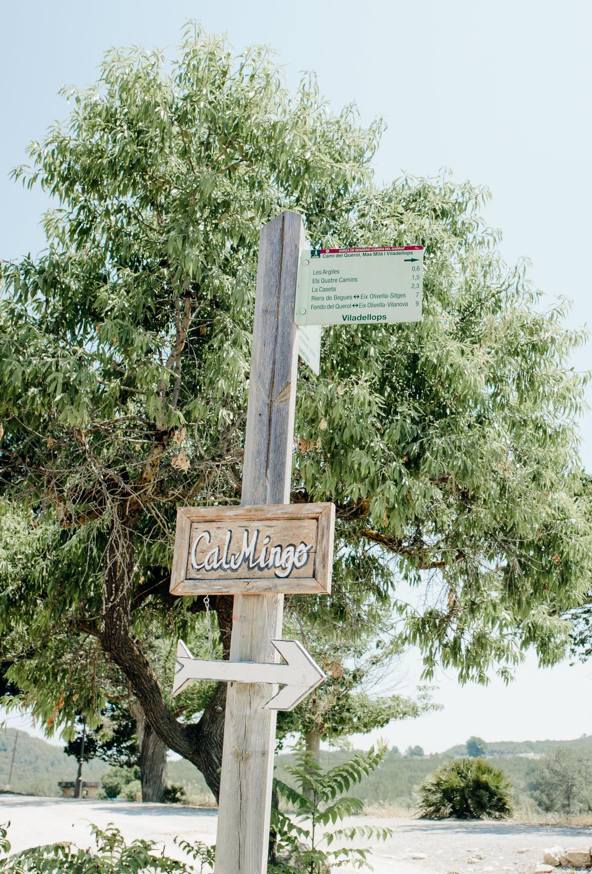 Masia Cal Mingo Gardens