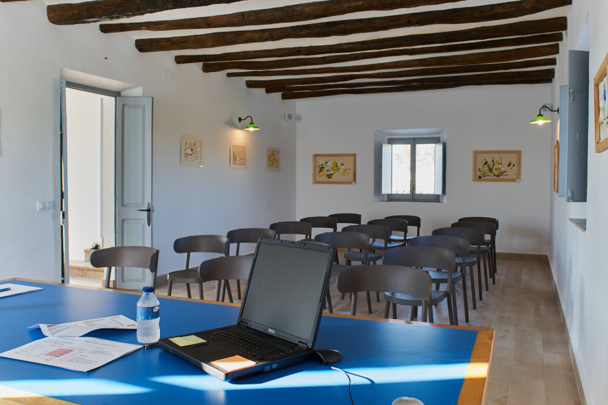 event space at Masia Viladellops